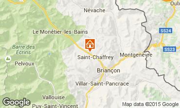 Mapa Serre Chevalier Chalet 2856