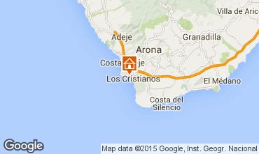 Mapa Los Cristianos Apartamento 99539