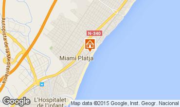Mapa Miami Playa Apartamento 34588