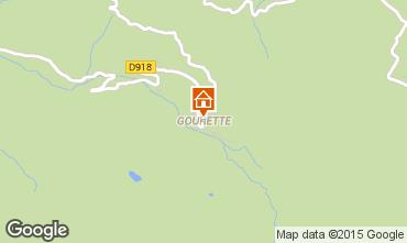 Mapa Gourette Apartamento 92200