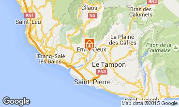 Mapa L'Entre Deux Villa 73361