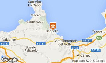 Mapa Scopello Apartamento 44240