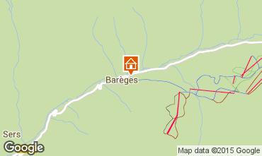 Mapa Barèges Apartamento 68092