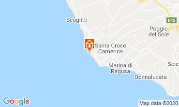 Mapa Marina di Ragusa Apartamento 48123