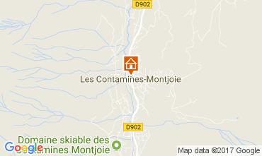 Mapa Les Contamines Montjoie Apartamento 88217