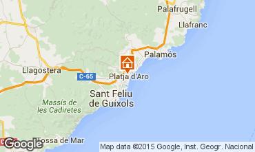 Mapa Playa d'Aro Apartamento 87177