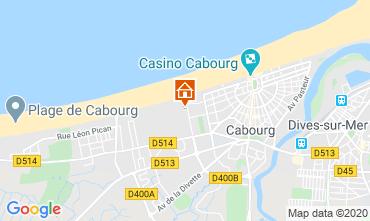 Mapa Cabourg Apartamento 84925