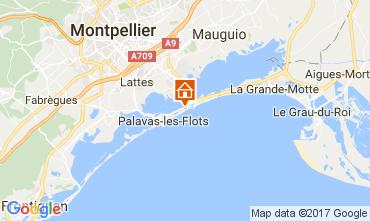 Mapa Palavas-les-Flots Villa 110505