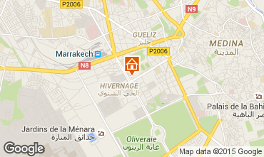 Mapa Marruecos Apartamento 14127