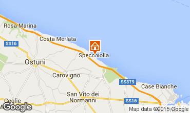 Mapa Ostuni Villa 95650