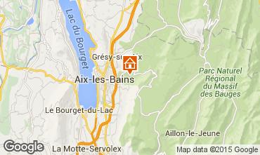 Mapa Aix Les Bains Casa 84393