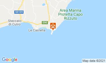 Mapa Isola di Capo Rizzuto Apartamento 89444