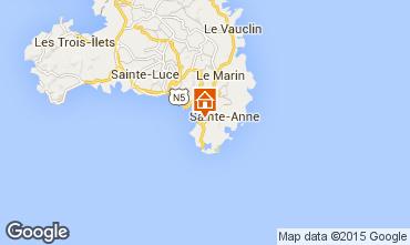 Mapa Sainte Anne (Martinique) Villa 8123