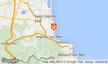 Mapa Argeles sur Mer Estudio 99928