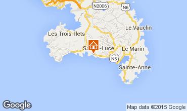 Mapa Sainte Luce Apartamento 15113