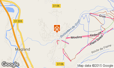 Mapa Chamonix Mont-Blanc Estudio 100252