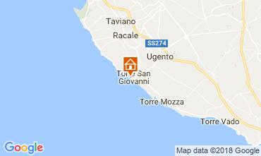 Mapa Ugento - Torre San Giovanni Apartamento 94486