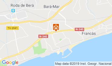 Mapa Calafell Casa 119979