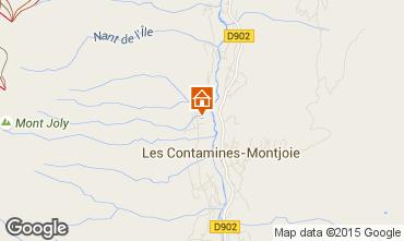 Mapa Les Contamines Montjoie Chalet 956
