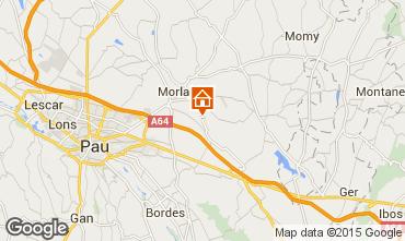 Mapa Pau Villa 98885