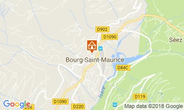 Mapa Bourg saint Maurice Apartamento 286