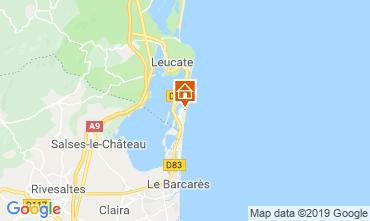 Mapa Leucate Apartamento 85465