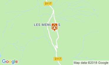 Mapa Les Menuires Apartamento 116861