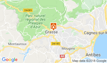 Mapa Grasse Casa rural 56131