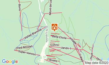 Mapa Les 2 Alpes Apartamento 1139
