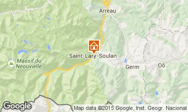 Mapa Saint Lary Soulan Apartamento 90823