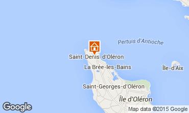 Mapa Saint Denis d'Oléron Casa 55536