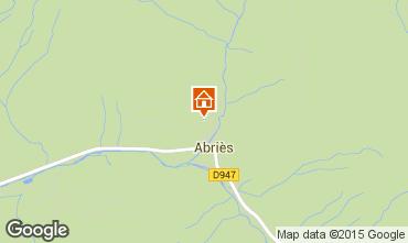 Mapa  Chalet 102135