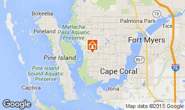 Mapa Cape Coral Villa 57904
