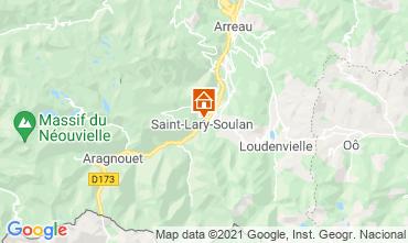 Mapa Saint Lary Soulan Apartamento 110668