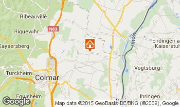 Mapa Colmar Casa rural 13081