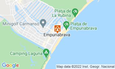 Mapa Ampuriabrava Apartamento 114955