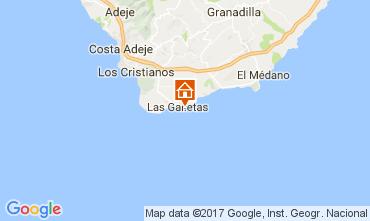 Mapa Costa del Silencio Apartamento 65990
