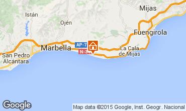 Mapa Marbella Apartamento 100768