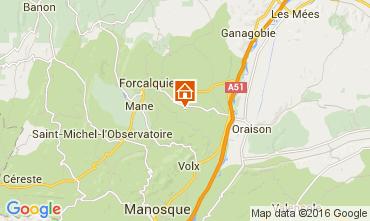 Mapa Forcalquier Casa 90128