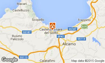 Mapa Castellammare del Golfo Apartamento 46504