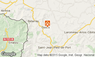 Mapa Saint Jean Pied de Port Apartamento 82959