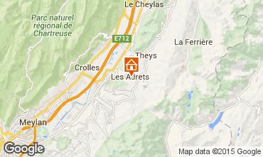 Mapa Les Sept Laux Apartamento 14515