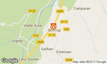 Mapa Saint Lary Soulan Casa 4501