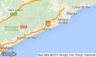 Mapa Calella de Mar Apartamento 8169
