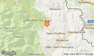 Mapa Serre Chevalier Chalet 2855
