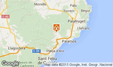 Mapa Calonge Chalet 97166