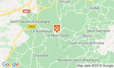 Mapa Le Mont Dore Casa 39305