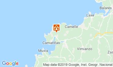 Mapa A Coruña Casa rural 86885