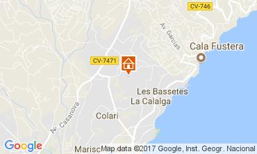 Mapa Calpe Villa 111838