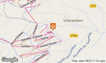 Mapa Le Corbier Estudio 1071